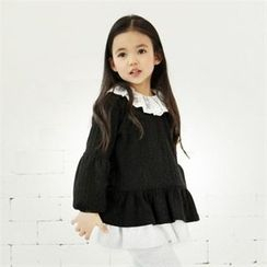 TWINSBILLY - Lace-Trim Top