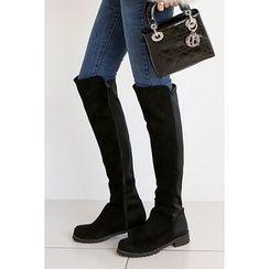 migunstyle - Zip-Up Long Boots