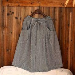 tete - 條紋長裙