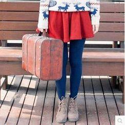 Forest Girl - Fleece Lined A-Line Skirt