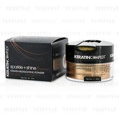 Keratin Complex - Fashion Therapy Sparkle + Shine Keratin Highlighting Powder - # Bronze