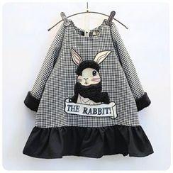 Rakkaus - Kids Long-Sleeve Paneled Dress