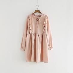 Storyland - Long-Sleeve Ruffled Dress