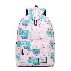 VIVA - Print Canvas Backpack