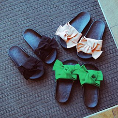 BOOM Kids - Kids Bow Slide Sandals