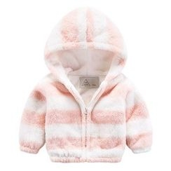 DEARIE - 兒童條紋連帽外套