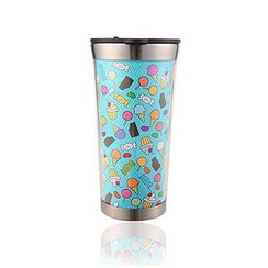 LIFE STORY - Illustration Stainless-Steel Tumbler