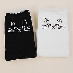 Skool - Cat Pattern Socks