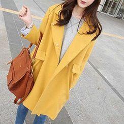 lilygirl - Long-Sleeve Fleece Coat