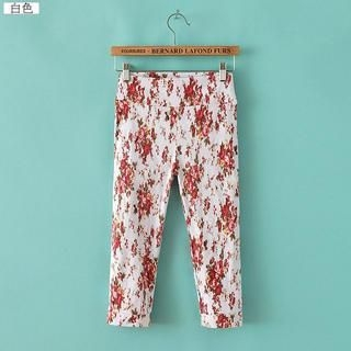 LULUS - Floral Cropped Pants