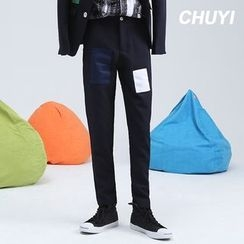 Chuoku - Appliqué Dress Pants