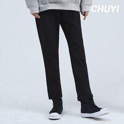Chuoku - Straight Leg Pants