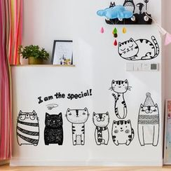 LESIGN - Cat Wall Sticker