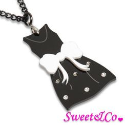 Sweet & Co. - XL LBD Dress Swarovski Crystals Necklace