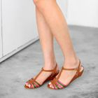 59 Seconds - T-Strap Wedge Sandals