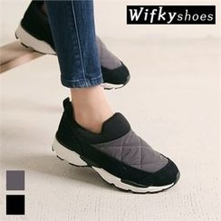 Wifky - Padded-Panel Slip-Ons