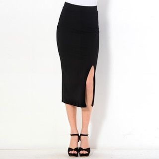 59 Seconds - Slit-Side Maxi Skirt