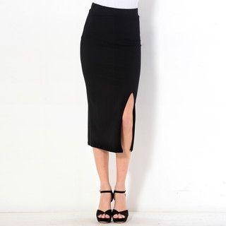 59 Seconds - Slit-Side Maxi Skirt