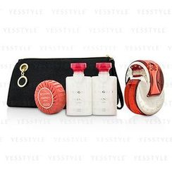 Bvlgari - Omnia Coral Coffret: Eau De Toilette Spray 65ml/2.2oz + Body Lotion 40ml/1.3oz + Shower gel 40ml/1.3oz + Soap 50g/1.7oz + Pouch