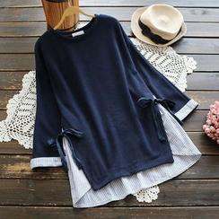 YOYO - 假兩件套衫