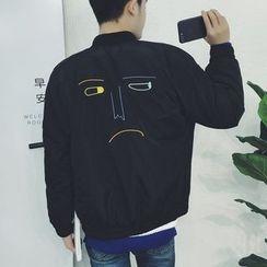 Edouard - Embroidered Bomber Jacket