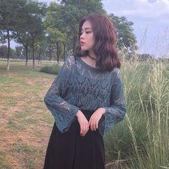 MePanda - Open Knit Sweater