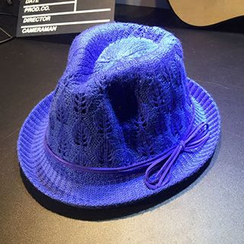 Hats 'n' Tales - Knit Fedora Hat