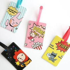 iswas - 'Hello Geeks' Series Pop Art Luggage Tag