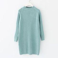 Meimei - 羅紋針織連衣裙