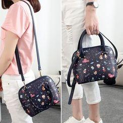 Princess Carousel - Printed Bowler Bag