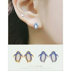 soo n soo - Penguin Earrings
