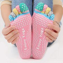 YUBE - 插色襪子