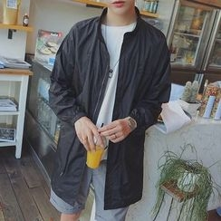 Danjieshi - Plain Long Jacket