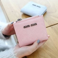 Rinka Doll - Faux Leather Lettering Wallet