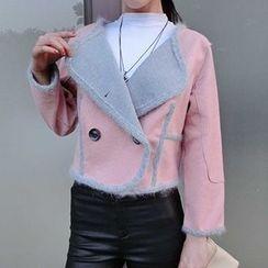 Queen Bee - 雙排扣羊毛夾克