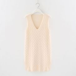 Meimei - Sleeveless Knit Dress