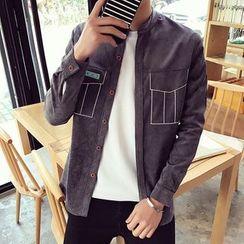 Alvicio - Corduroy Long-Sleeve Shirt