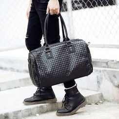 ETONWEAG - Woven Faux Leather Carryall