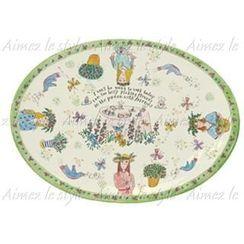 Aimez le style - Aimez le style Oval Plate Garden Party