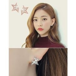 soo n soo - Star Stud Earrings