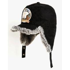 STYLEMAN - 仿毛邊蓋耳帽