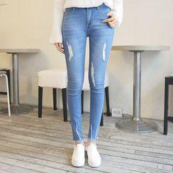 Envy Look - Distressed Skinny Jeans