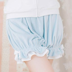 dollydelly - Ruffle Trim Lantern Shorts