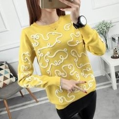 anzoveve - Patterned Sweater