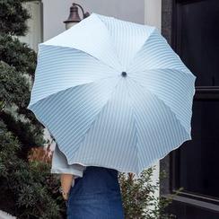 Petrichor - Striped UV Protection Compact Umbrella
