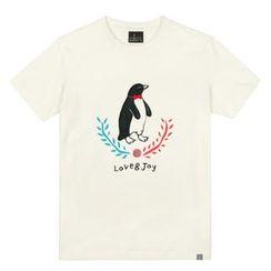 the shirts - Penguin Print T-Shirt