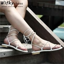 Wifky - Strappy Sandals