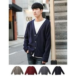 STYLEMAN - Colored V-Neck Cardigan