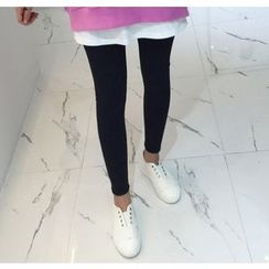 Miamasvin - Inset Mini Skirt Leggings