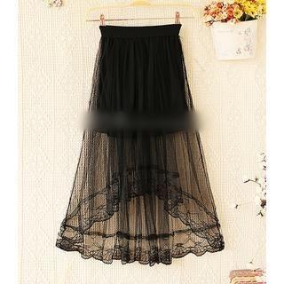 Munai - Layered Tulle Skirt